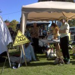 Dayman Park hosts anti dam rally